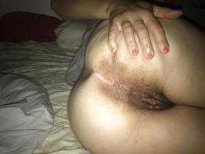 Mon cul bien ouvert pour vous